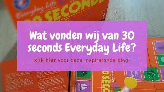 30 seconds everyday life review