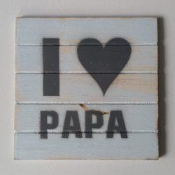 De kleine madam: Papa komt thuis