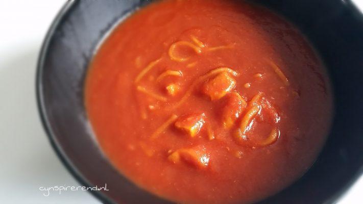 Goddelijke Chinese tomatensoep