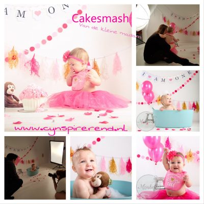 De kleine madam en haar cakesmash