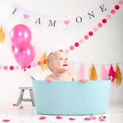 Hoera! De kleine madam is één jaar geworden!