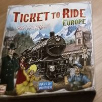 Review: Ticket to ride Europe