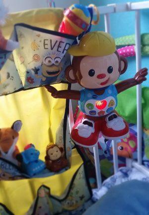 Swing Aap Vtech Zoef Zoef microfoon speelgoed kind muziek baby