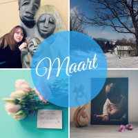 Maandoverzicht maart: Sneeuw, snot, sambal en afscheid nemen