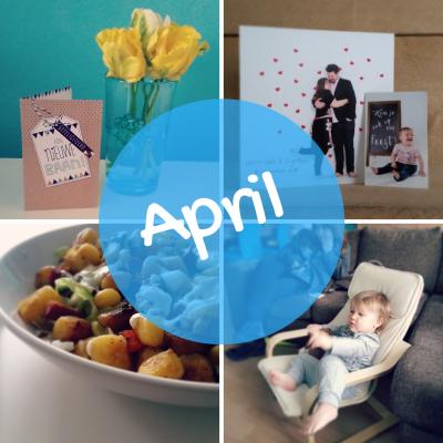 Maandoverzicht april: Mijn bruidsjurk, nieuwe baan en digitale detox