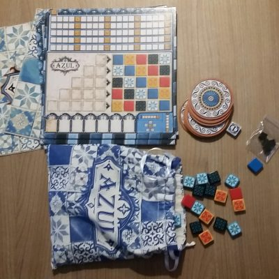 inhoud bordspel Azul