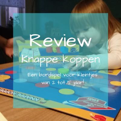 Knappe koppen review spel voor peuters