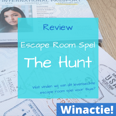 Escape Room Spel The Hunt